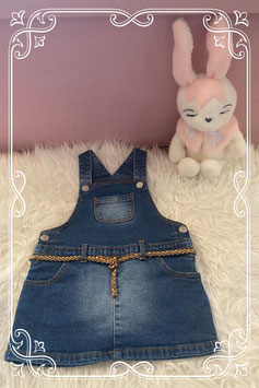 Jeans jurkje van de Hema - maat 86