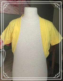 Gele bolero - Maat 158-164