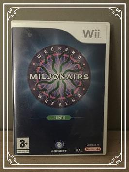 1e editie Miljonairs voor WII