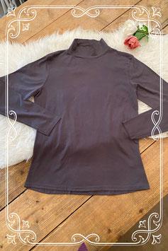 Grijs T-shirt met col - maat XL