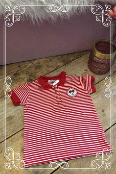 Gestreept Minnie Mouse T-shirt van de H&M - Maat 98