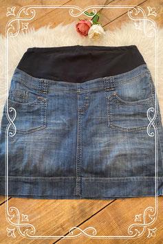 Jeans zwangerschapsrok van Miss Etam - maat 44