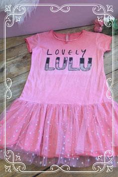 Roze jurkje met tutu van Lulucastagnette - Maat 134