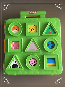 Verrassingsblokken speelkoffer van Playskool