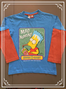 Shirt van The Simpsons - maat 134
