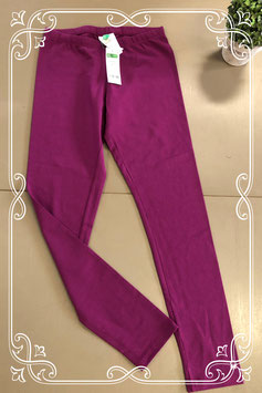 Paarse legging van United colors of Benneton maat 146/152