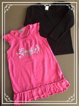 Set van twee kledingstukken met draagmaat 92-98