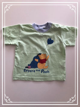 Groen Winnie the Pooh T-shirt - Maat 74