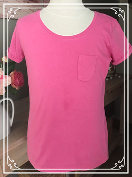 Basic roze t-shirt van HEMA - Maat 158-164