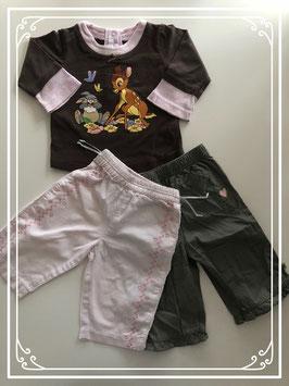 Bambi kleding set - Maat 68