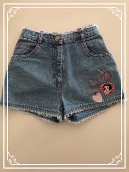 Korte hoge spijkerbroek van Disney's - Maat 128