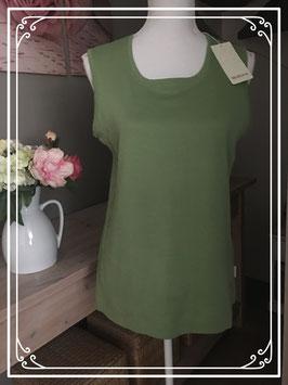 Nieuw: Groene tanktop van Brouwer's Mode - Maat M