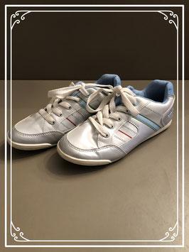 Zilver/Blauwe schoenen - maat 35