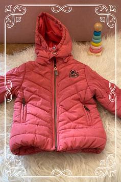 Roze winterjas van het merk Babyface - maat 80