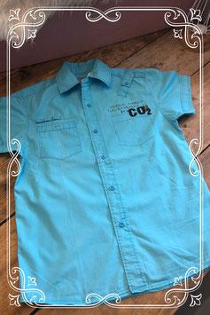 Felblauwe blouse van de WE - maat 146-152