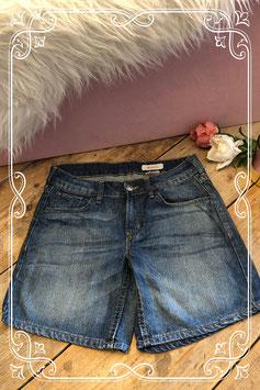 Korte spijkerbroek van H&M - Maat 152