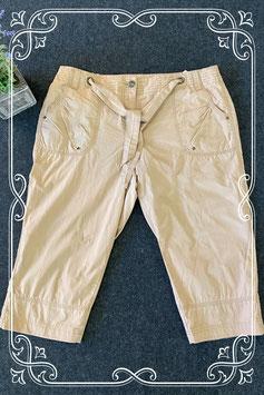 Beige capri broek van M&S Mode maat 40