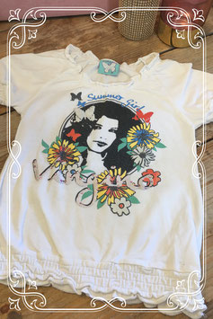 Wit t-shirt van het merk Vingino - maat 98