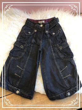 Stoere zwarte spijkerbroek van Persival - Maat 98
