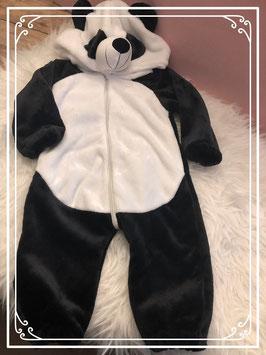Panda onesie - Maat 80
