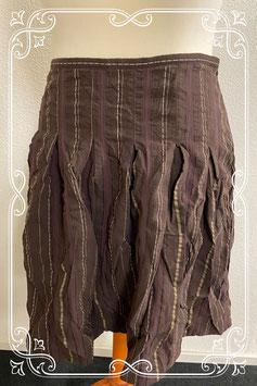 Nieuw! Mooie gestreepte rok van de Bijenkorf Collection maat 42