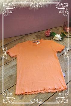 Leuk nieuw oranje shirtje van le big-maat 116