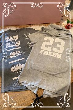 Twee stoere t-shirts van Coolcat maat 146-152