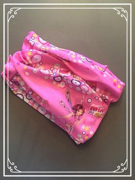 Roze haarband of sjaal van 'Mia and Me' - voor meisjes tot 7 jaar oud