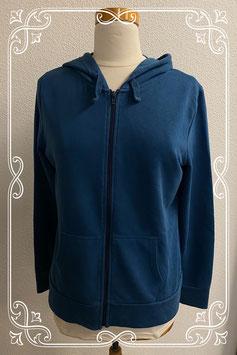 Leuk en warm blauw vest van C&A in maat S
