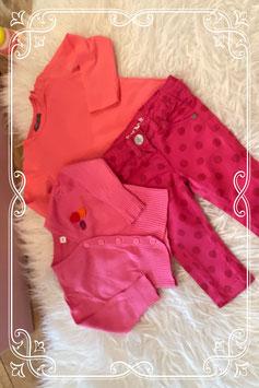 driedelig kledingset van HEMA en Frendz - maat 74