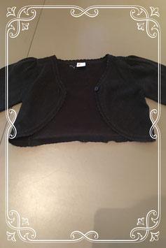 Zwart glitter vestje van FRENDZ - maat 92