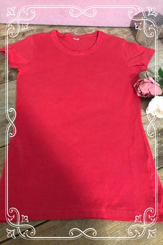 Rood basic t- shirt van het Merk - Zeeman -  Maat - 158-164