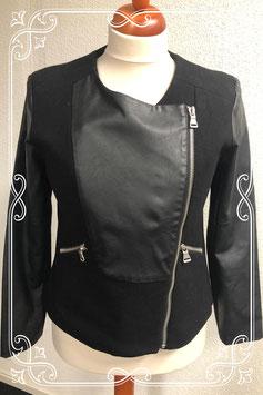 Nette zwarte jas van City Life maat XL