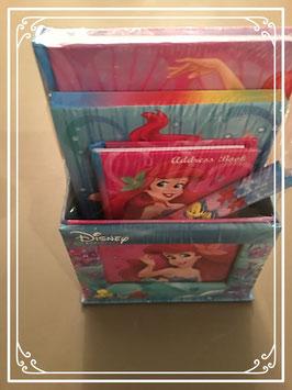 Nieuw: schrijfsetje van Disney's Little Mermaid - Ariel