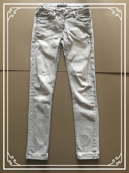 Grijze spijkerbroek - Maat 134