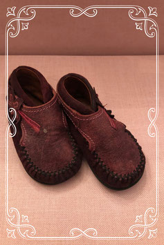 Roos-Roze schoentjes - maat 19