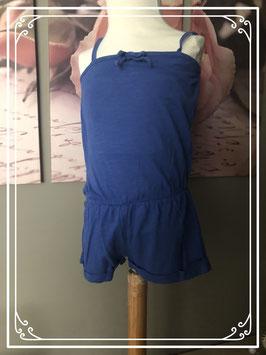 Blauwe jumpsuit van Zara Baby - Maat 92