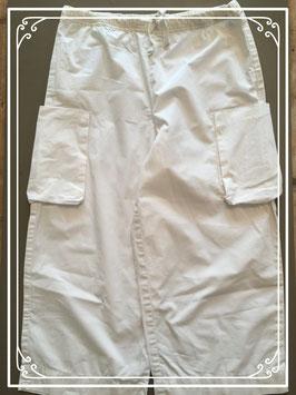 Witte katoenen zomerbroek van Nono - maat 140-146