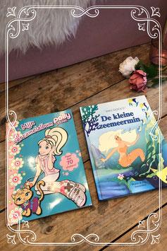 Leuk setje boekjes Polly Pocket en de Kleine zeemeermin