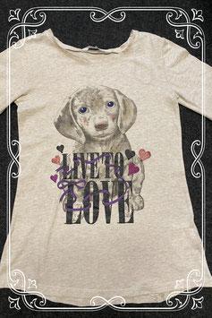 Leuk shirt met opdruk van H&M in maat 146/152