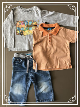 Hema en Mr. Men & Little Miss set - maat 74
