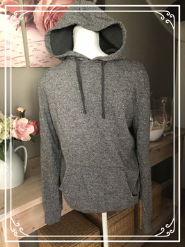 Grijze sweater met capuchon van de C&A - Maat S