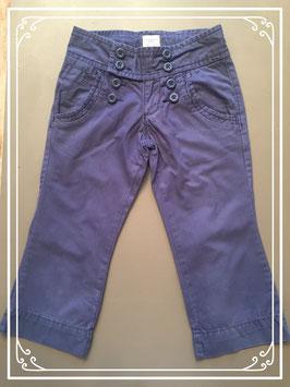 Blauwe driekwart broek van Old Navy Clothing - maat 122