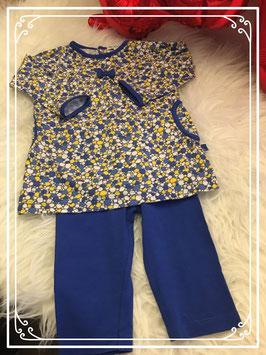 2-delig hip kleding setje mer Bla bla bla - maat 74