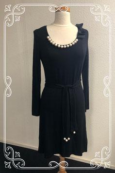 Nette zwarte jurk van K-Design maat M