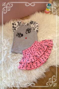 tweedelig kledingsetje van bakkaboe & prenatal - maat 74