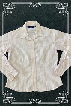 Wit met roze blouse van McGregor maat 152