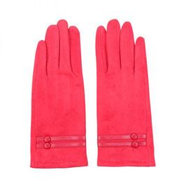 Nieuw: Yehwang - Gloves Pure Elegance - Rood