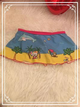 Bikinirokje bestaande uit 2 delen van Hello Kitty - Maat 86/92