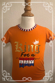 Koningsdag shirt van 9th Avenue maat 128